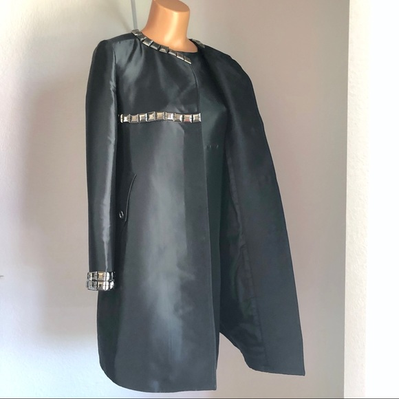 Burberry Dresses & Skirts - Blueberry 2-Piece Studded Dress & Jacket Set Black